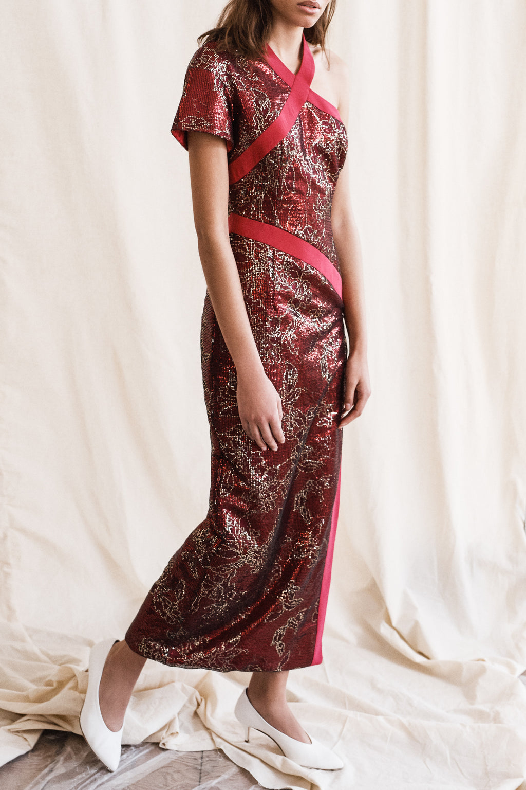"""Constance"" Sequin Gown"