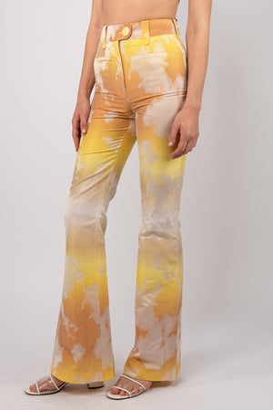 """Lexie"" Slim-fit Flared Trousers"