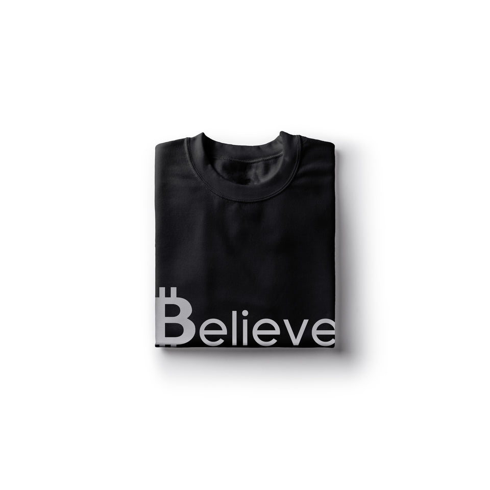Believe in Bitcoin - Encrypted Apparel