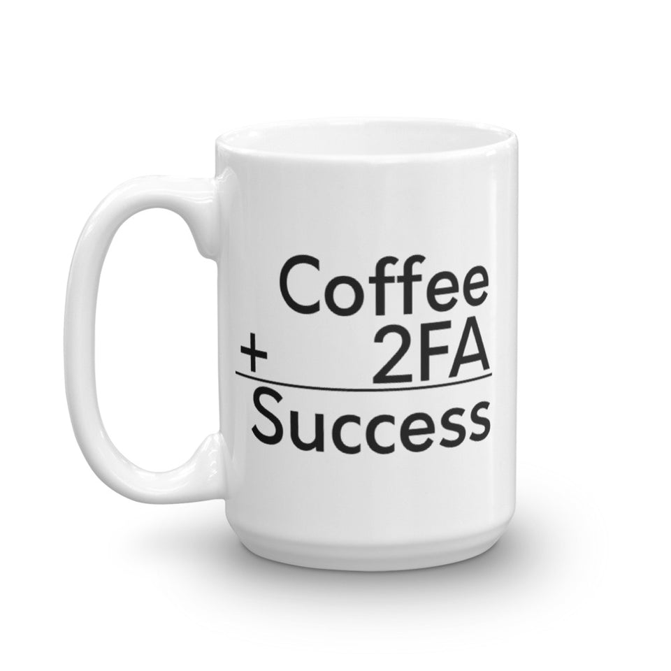 Coffee + 2FA - Encrypted Apparel