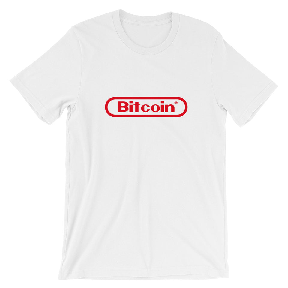 Bitcoin Nostalgia Tee - Encrypted Apparel