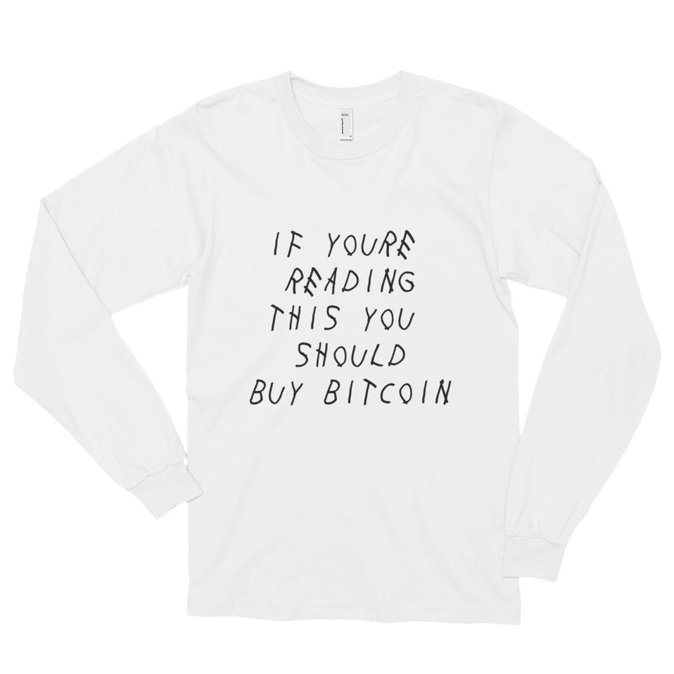 With My Coins Long Sleeve - Encrypted Apparel