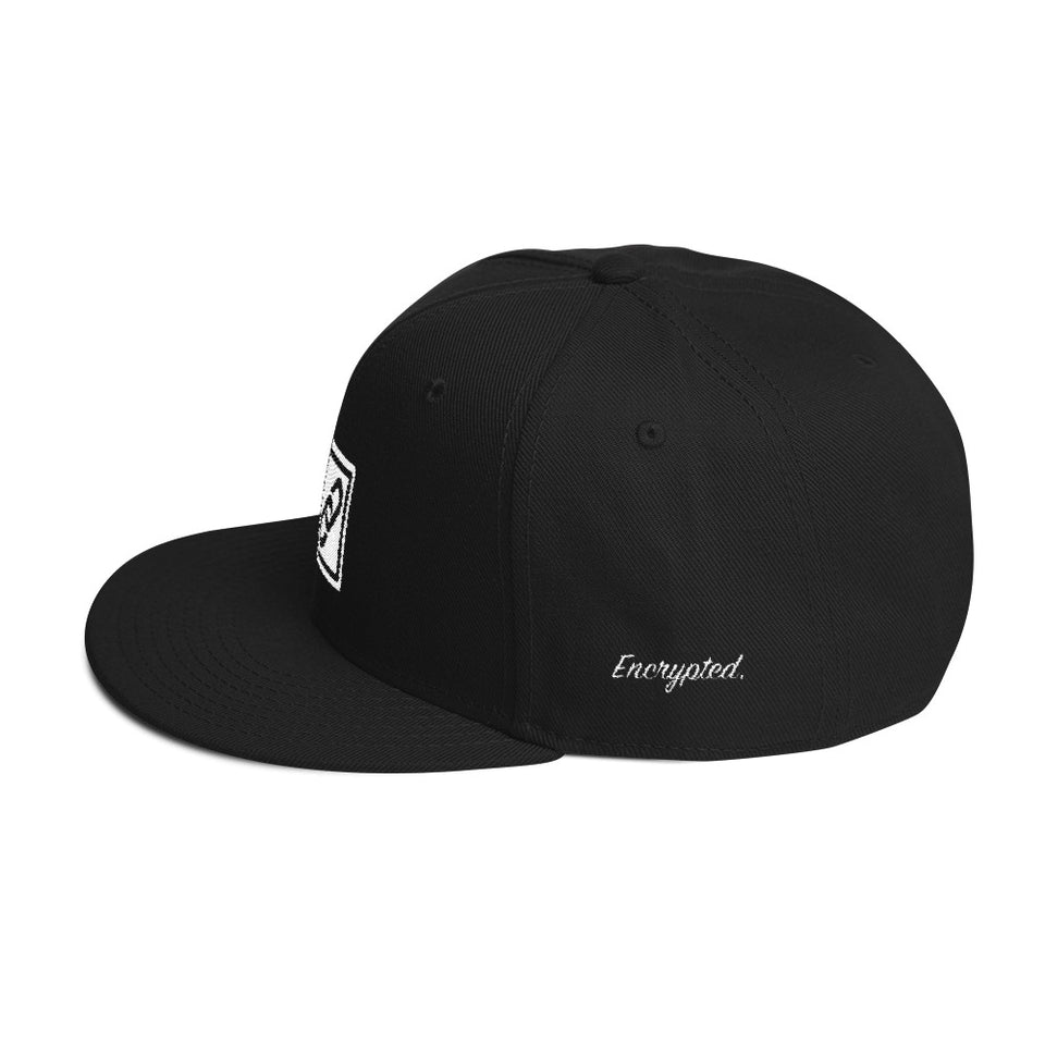 Blockchain Snapback - Encrypted Apparel