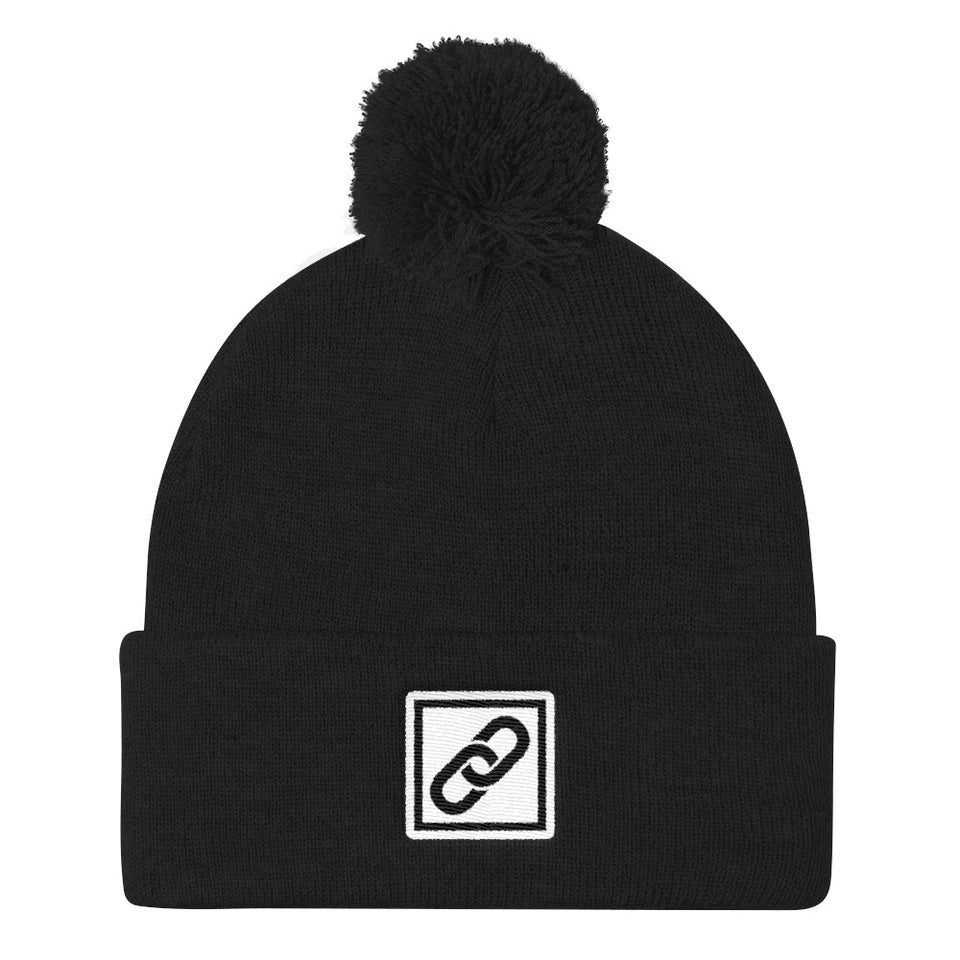 Blockchain Beanie - Encrypted Apparel
