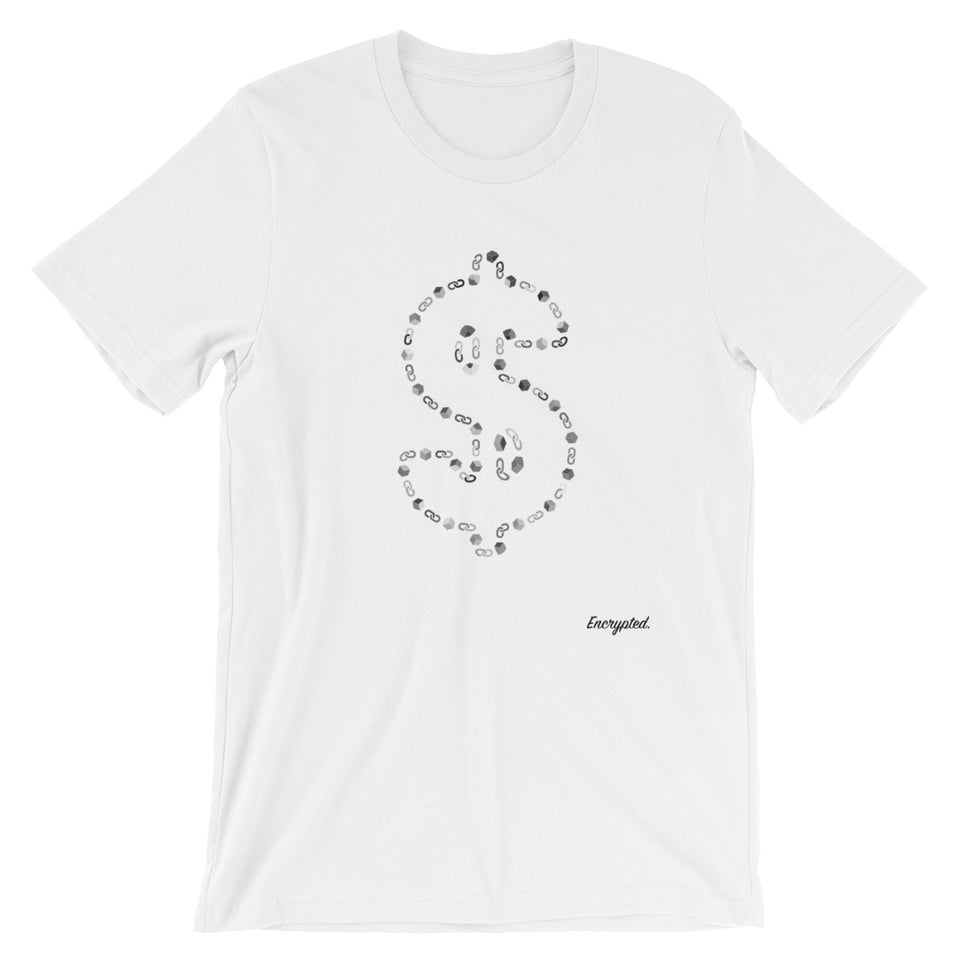 My Money is on Blockchain - Encrypted Apparel
