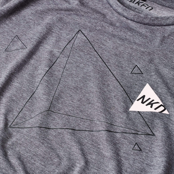 Naked Hockey tshirt Men's Naked Triangle T