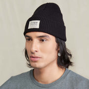 Merino Wool Watch Cap Black
