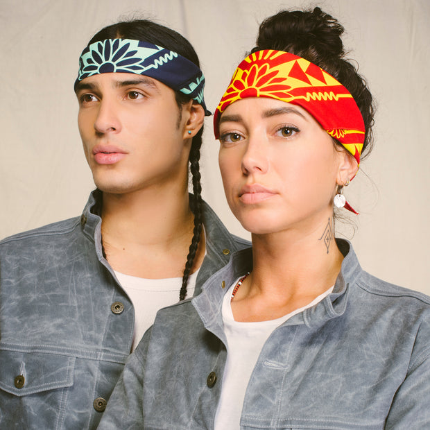 Naasgó, Forward Movement Bandana Red + Yellow