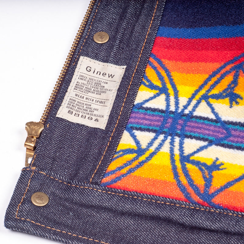Selvedge Denim Vest