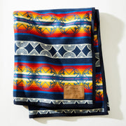 """We Walk Together"" Wool Blanket - ginewusa"