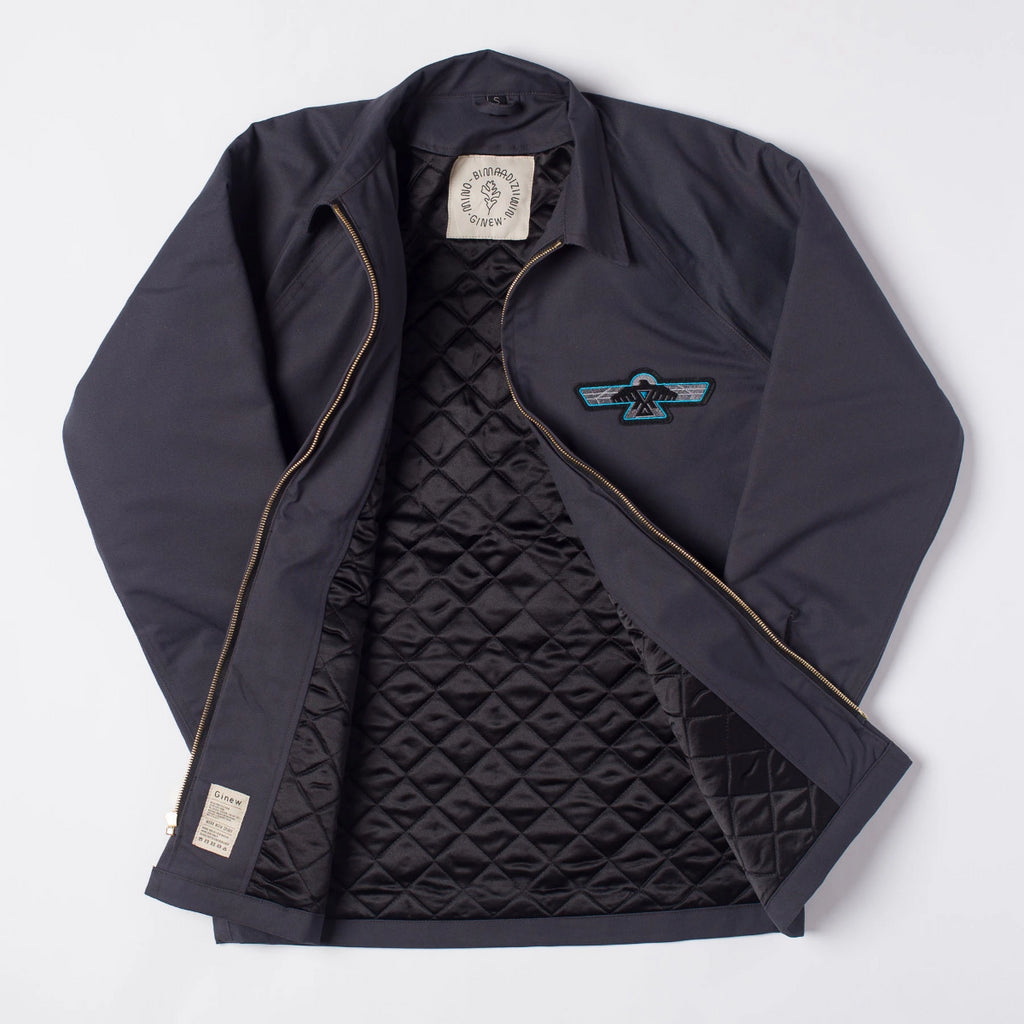 PRE-ORDER Club Coat Charcoal
