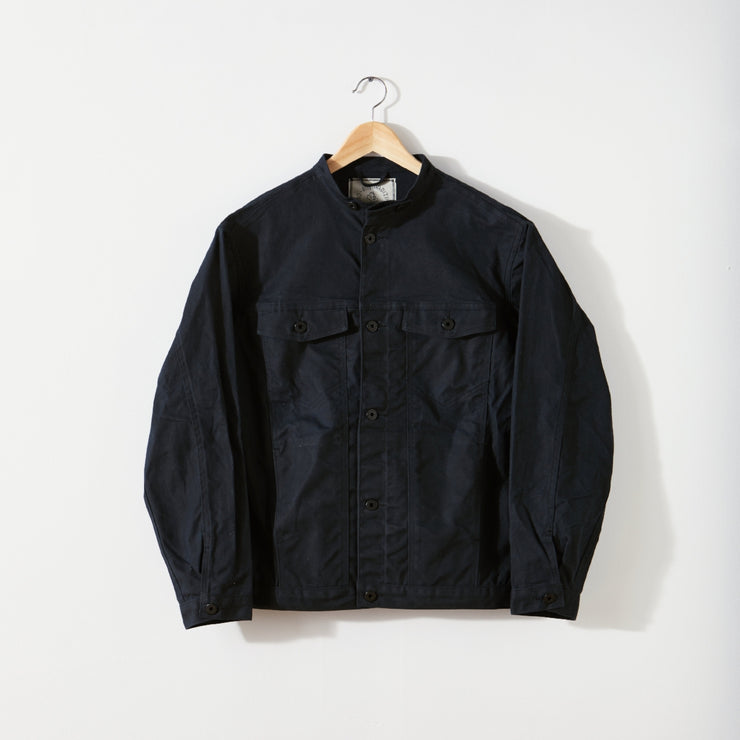 Wax Canvas Rider Jacket - ginewusa
