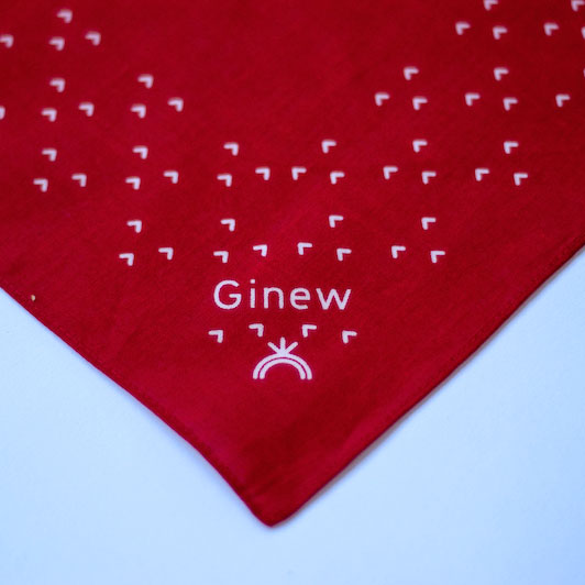 Thunderbird Bandana Red