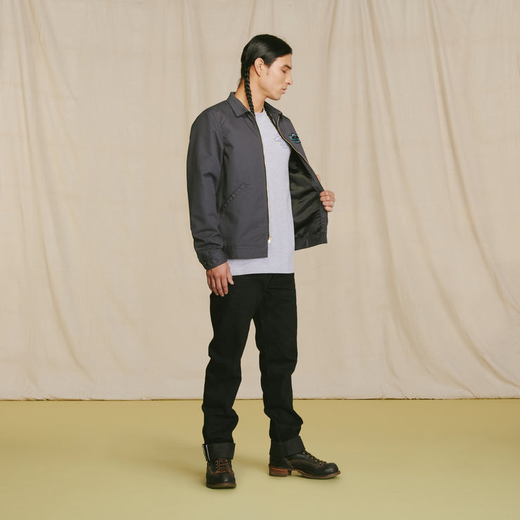 Mohican Crew Jacket Charcoal
