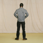 Wax Canvas Rider Jacket Charcoal