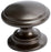 "1-3/16"" Classic Comfort Knob Oil Rubbed Bronze - Adagio Collection"