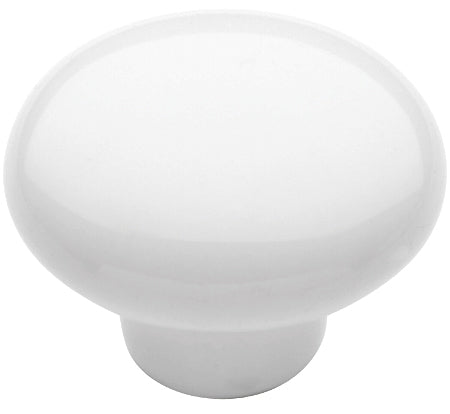 "1-1/4"" Mushroom Cabinet Knob White - Allison Value Collection"