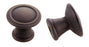 Andrew Claire Collection 30mm Deco Knob Oil Brushed Bronze (AC-80110.10B)