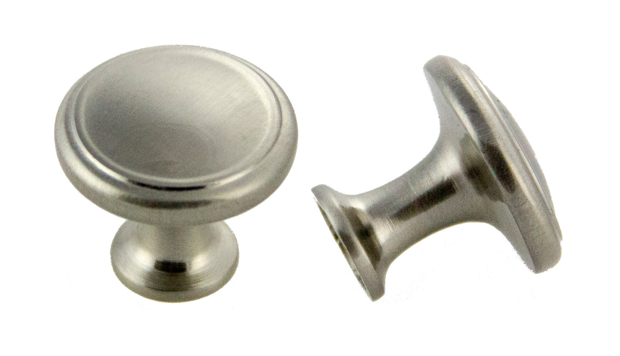 Andrew Claire Collection 30mm Deco Knob Satin Nickel (AC-80576.SN)