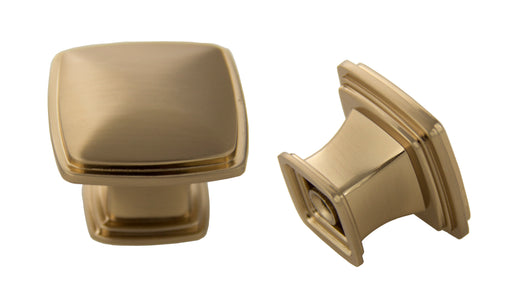 Andrew Claire Collection 32mm Square Knob - Rose Gold