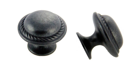 Andrew Claire Collection 30mm Rope Knob Weathered Black (AC-81784.DACM)