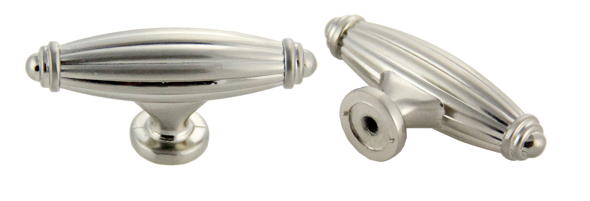 "Andrew Claire Collection 2-1/2"" Deco Knob Satin Nickel (AC-86618.SN)"