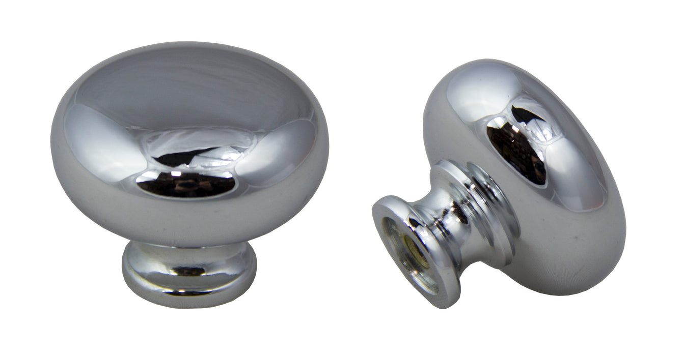 Andrew Claire Collection 31mm Mushroom Polished Chrome (AC-928.PC)
