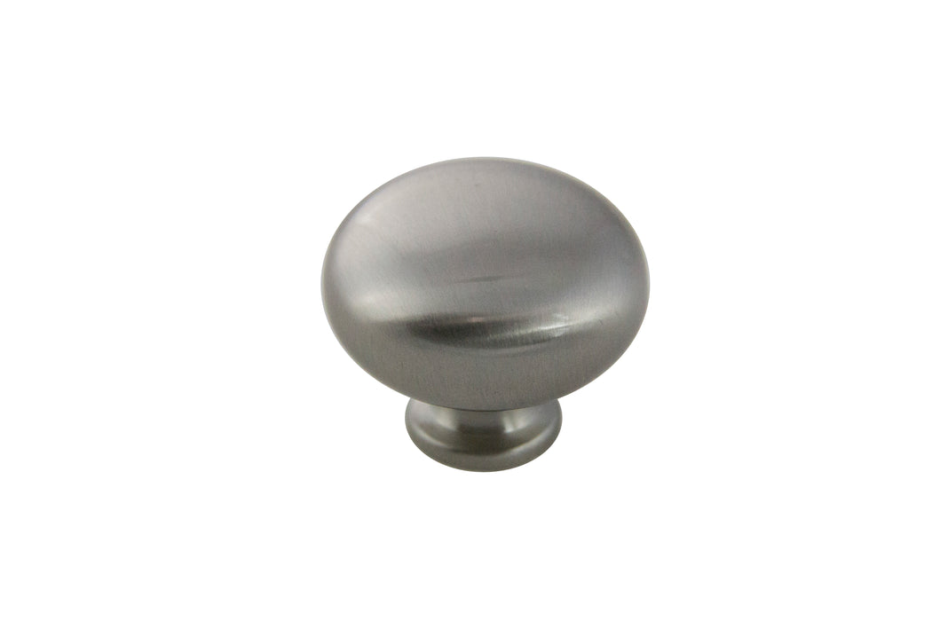 Andrew Claire Collection 31mm Mushroom Knob Satin Nickel (AC-928.SN)