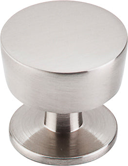 "1-3/16"" Essex Knob Brushed Satin Nickel - Nouveau III Collection"