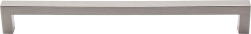 "8-13/16"" Square Bar Pull Brushed Satin Nickel - Asbury Collection (M1152)"
