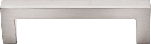 "3-3/4"" Square Bar Pull Brushed Satin Nickel - Asbury Collection"