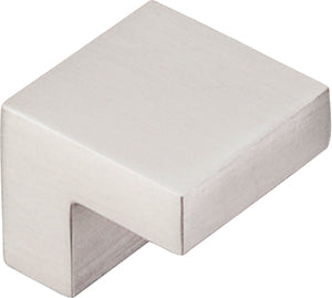 "5/8"" Square Knob Brushed Satin Nickel - Asbury Collection"