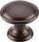 "1-1/4"" Rounded Knob Oil Rubbed Bronze - Dakota Collection"