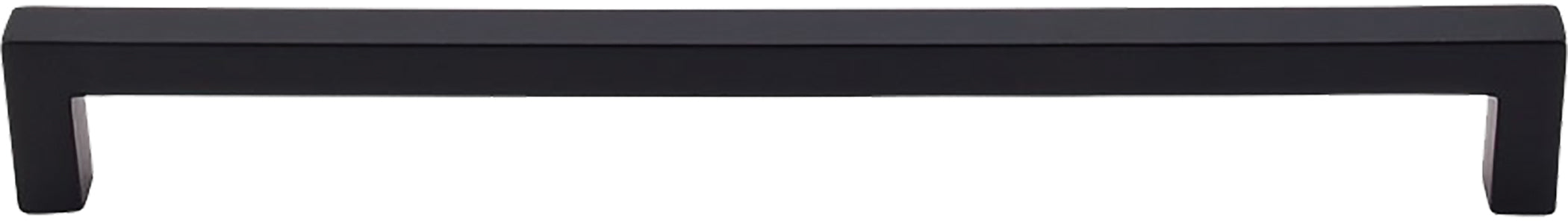 "12"" Sq Bar Pull Flat Black - Nouveau III Collection"