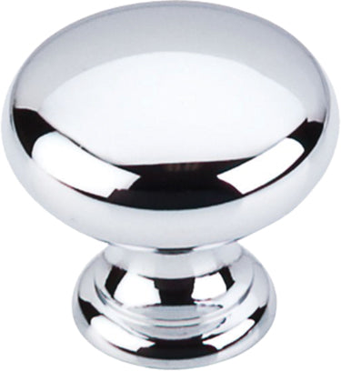 "1-1/4"" Mushroom Knob Polished Chrome - Somerset II Collection"