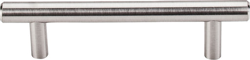 "3-3/4"" Hopewell Bar Pull Brushed Satin Nickel - Nouveau Collection"