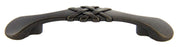"Andrew Claire Collection 3"" Braided Pull Weathered Black (AC-86363.DACM)"