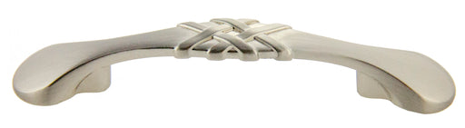 "Andrew Claire Collection 3"" Braided Pull Satin Nickel (AC-83063.SN)"