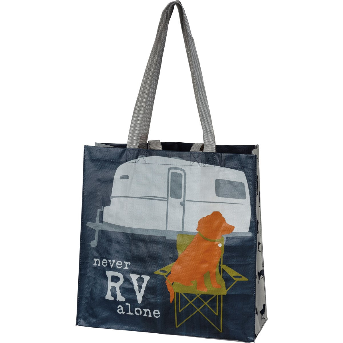 Never RV Alone Shopping Bag