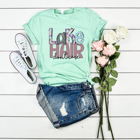 Lake Hair Don't Care T-Shirt