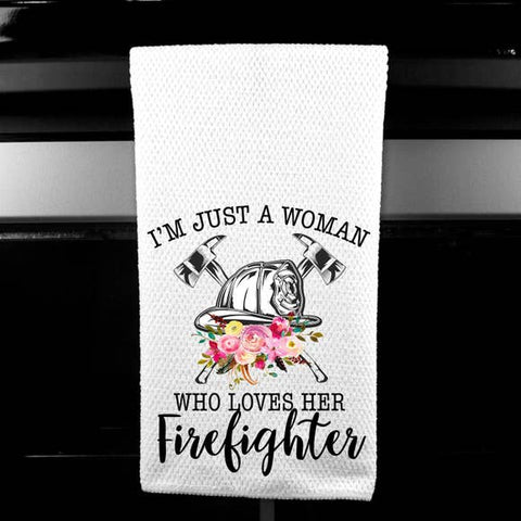 Firefighter Hand Towels