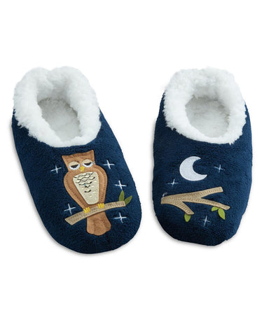 snoozies! Night Owl Slippers
