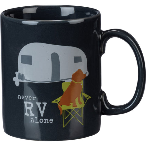 Never RV Alone Mug