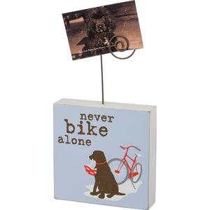 Never Bike Alone Photo Block