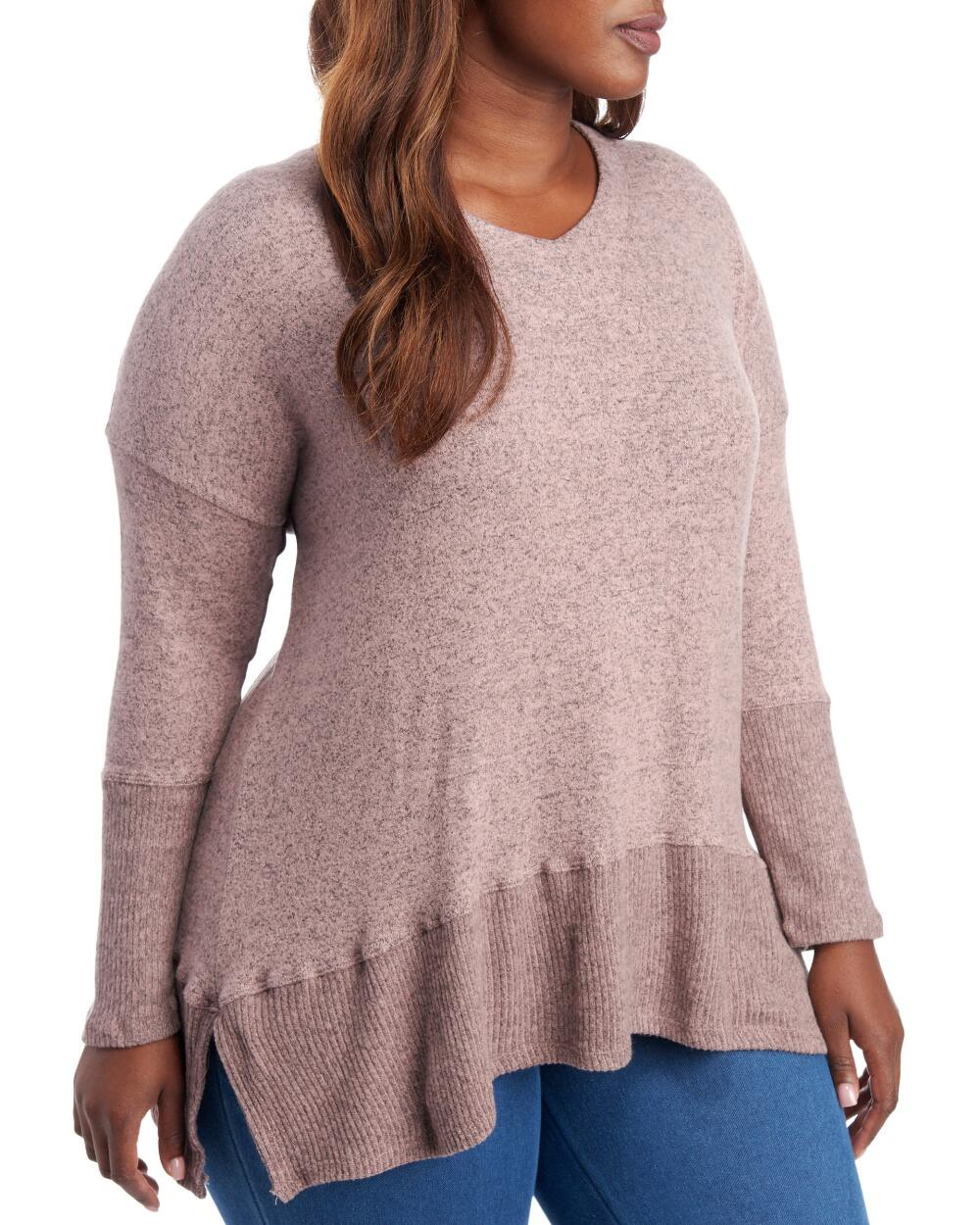 Plus Size V-Neck Tunic