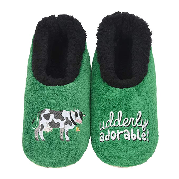 snoozies! Udderly Adorable Slippers