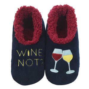 snoozies! Wine Not? Slippers
