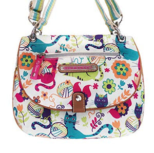 Lily Bloom Feline Fun Bag