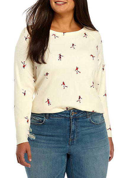 Sensational Skater Thermal Top