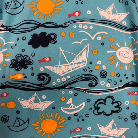 Sailboats & Sunshine Leggings